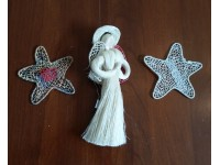 Handcrafted Sisal Christmas Tree Ornaments