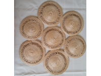 Handcrafted Sisal Table Decorations