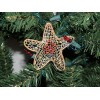 Christmas Ornament, Star, Multi-colored